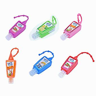Reusable Mini Hand Sanitizer Fruit Scented Disposable - Moisturizing Safe Gel