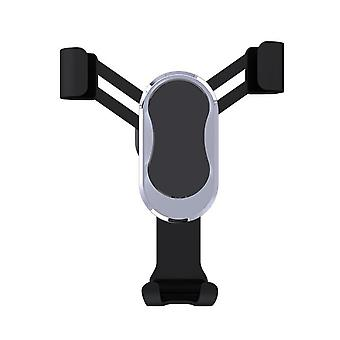 Telefontartó az autó ventilátorának hűtőrácsa - Fekete