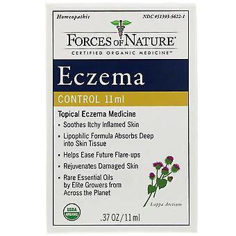Forces of Nature, Eczema Control, 0.37 oz (11 ml)
