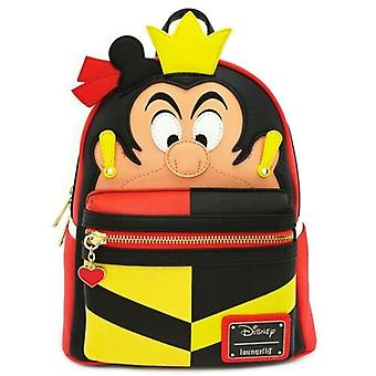 Loungefly Alice In Wonderland Queen Of Hearts Mini Backpack