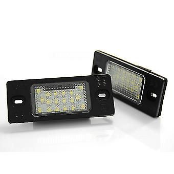 Kentekenverlichting LED voor VW TIGUAN / TOUAREG / GOLFV VI VARIANT / PORSCHE CAYENNE LED CANBUS