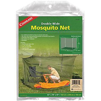 科格兰的双宽蚊帐,绿色,网状网保护昆虫