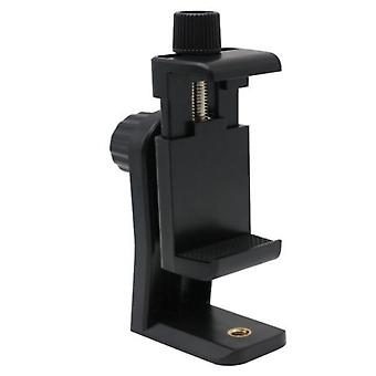 Phone Tripod Mount Adapter Clip Support Holder Stand Vertical & Horizontal