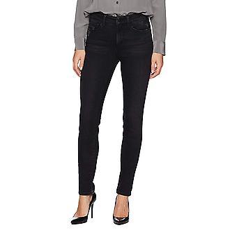 NYDJ | Ami Distressed Mid-Rise Skinny Jeans