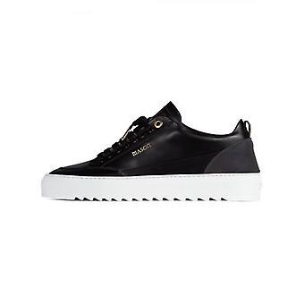Mason Garments Reflective Black Tia Leather Sneaker