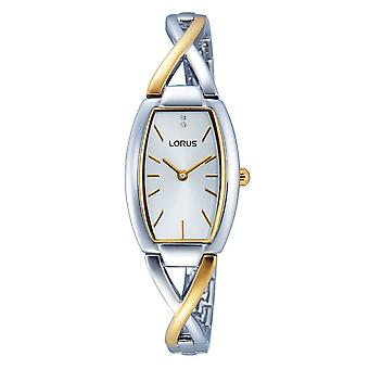 Lorus Ladies Dress Watch med två tonformade Strap (Modell nr. RRW51EX9)
