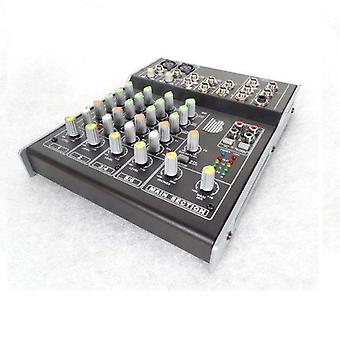 Bishopsound 6 channel mixer for live, recorded music, touring, studio or live streaming