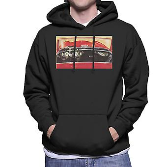 Austin Healey Drivers Seat British Motor Heritage Men's Hooded Sweatshirt