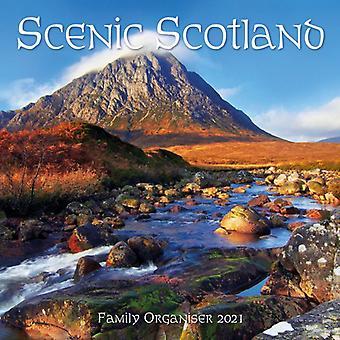 2021 Calendar Scenic Scotland Family Organiser Lomond Books