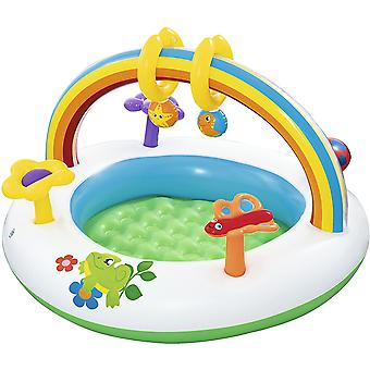 Bestway Opblaasbare Rainbow Go and Grow Baby Activity Gym