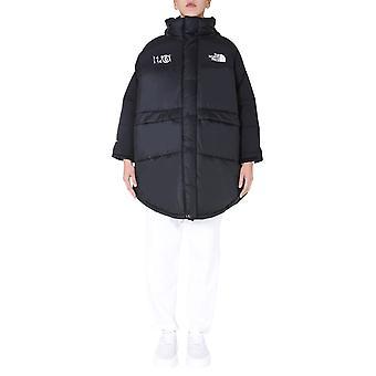 Mm6 X The North Face S62aa0034s53390900 Women's Black Nylon Down Jacket