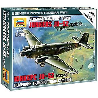 Zvezda Z6139 Junkers Ju-52 Transport Plane Model Kit