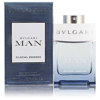 Bvlgari Man Glacial Essence Eau De Parfum Spray By Bvlgari 2 oz Eau De Parfum Spray