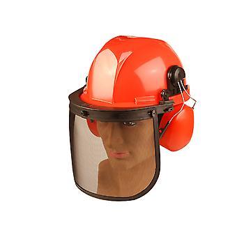 ALM製造 CH011 チェーンソー セーフティヘルメット ALMCH011