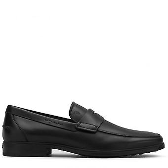 Tod's Black Leather Loath