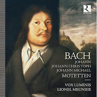 Bach / Vox Luminis / Meunier / Scorpio Collectief - Motetten [CD] USA import