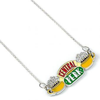 Friends Silver Plated Necklace Central Perk