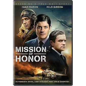 Mission Of Honor [DVD] USA import