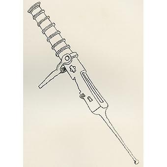 Kleinen Verschluss laden Pivot Gun geringelten Eisen aus der britischen Armee seinen Ursprung Fortschritt und Ausrüstung veröffentlicht 1868 PosterPrint