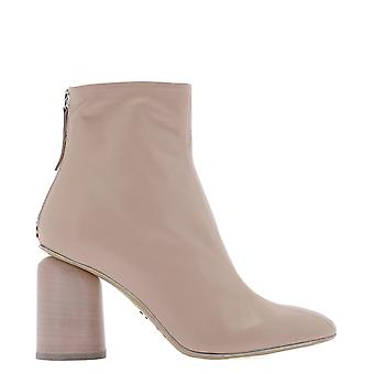 Halmanera Eagle09kidpeonia Women's Pink Leather Ankle Boots