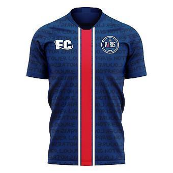 Paris 2020-2021 Home Concept Football Kit (Fans Cultuur)