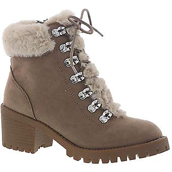 Madden Girl Womens Hidde Closed Toe Ankle Cold Weather Boots