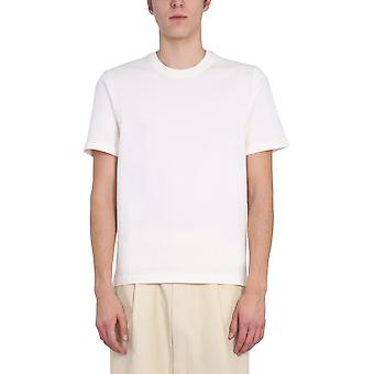 Bottega Veneta 649055vf1u09068 Heren's White Cotton T-shirt