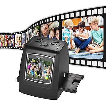 High-Resolution 14MP/22MP Film Scanner Convert  Color Monochrome Slide Film