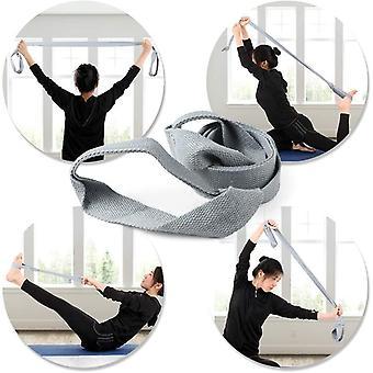 TOMSHOO Non-Slip TPE Yoga Mat Training Mat,with Carry Strap 183x 61 x 0.6 cm