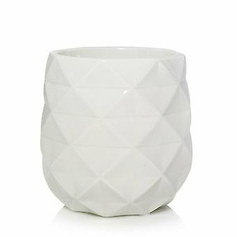 Yankee Candle Langham Faceted Ceramic Scenterpiece Warmer