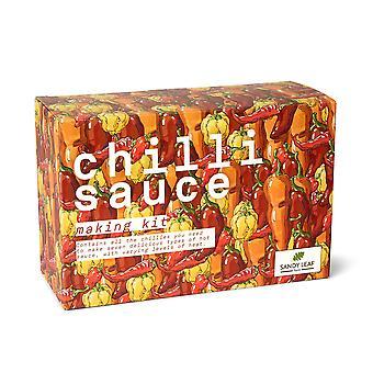 Chilli Sauce machen Kit - machen Sie Ihre eigene heiße Sauce - enthält Chipotle, Habanero, piri piri, aji amar