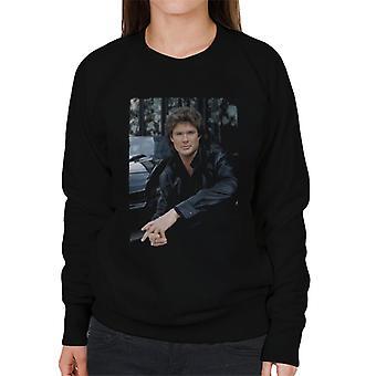 Knight Rider Michael Knight Headshot Women's Sweatshirt