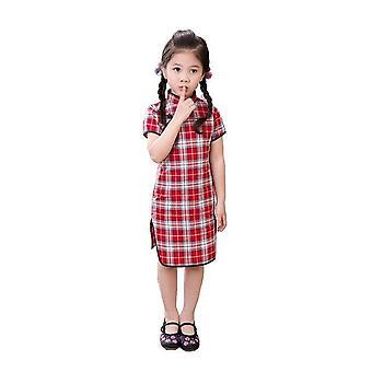 Qipao סיני השנה החדשה שמלת בנות בסגנון 2, תינוק