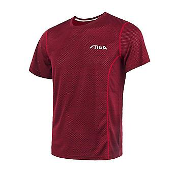 Quick Dry Short Sleeved Mężczyźni Ping Pong Shirt Badminton Sport Jerseys