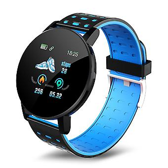 119 Plus Bluetooth Men Blood Pressure Waterproof Sports Smartwatch Tracker