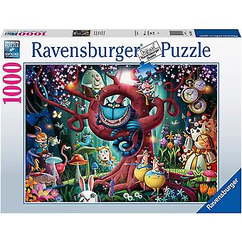 Ravensburger Almost Everyone is Mad Alice in Wonderland 1000 Piece Jigsaw Puzzle