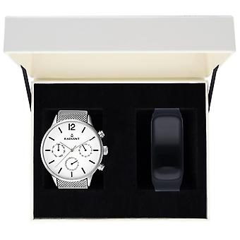 Radiant north week Watch for Analog Quartz Men with Stainless Steel Bracelet RA418701T
