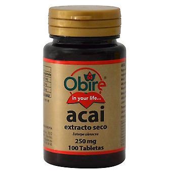 Obire Acai 1000 mg 100 tabletter