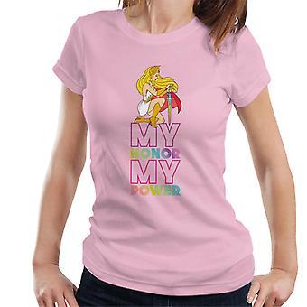 She-Ra Kneeling My Honor My Power Women's T-Shirt