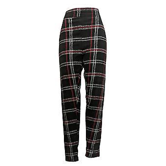 Cuddl Duds Women's Pants Plus Fleecewear Stretch Legging Black A369295