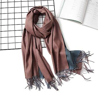 Women Scarf Fashion Solid Soft Cashmere Scarves For Lady