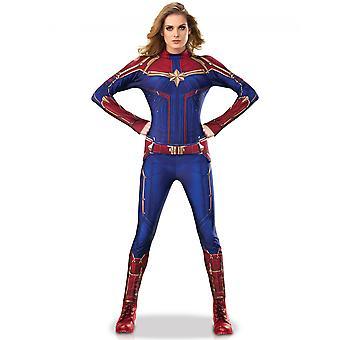 Déguisement luxe Captain Marvel femme