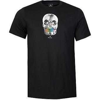 Paul Smith Skull Print Kortermet T-skjorte