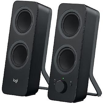 FengChun Z207 Kabellose PC-Lautsprecher, Bluetooth, Stereo Sound, 10 Watt Spitzenleistung, 3,5 mm