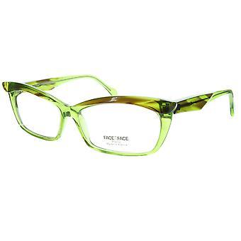 Gesicht ein Gesicht Brillen Rahmen Ebenholz 2 781 Acetat Schildkröte Cateye 57-14-135 32