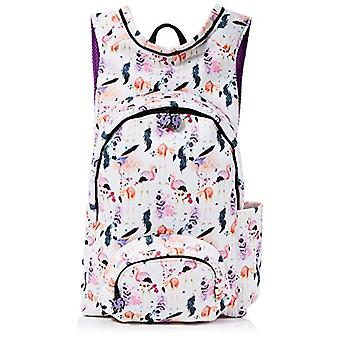 MorikukkoMorikukko Hooded Backpack Basic Flamingo FeathersUnisex - AdultZainiMulticolore (Flamingo Feather)33x8x40 Centimeters Ref. 8682328760198
