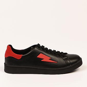 Svarta sneakers Neil Barrett Kvinnor