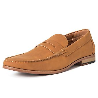 Mens Queensberry James Comfort Driving Casual Penny Moccasin Loafer Shoe UK 6-14