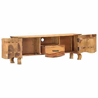 vidaXL TV kast 115 x 30 x 42 cm massief hout