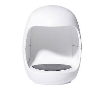 2Pcs white mini single finger nail lamp, usb uv led nail polish glue nail dryers lamp az994